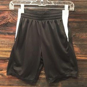 Athletic Works Kids Black Gym Short w/Pockets LG